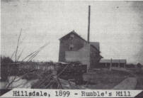 Formerly Dyment's Mill at Hillsdale